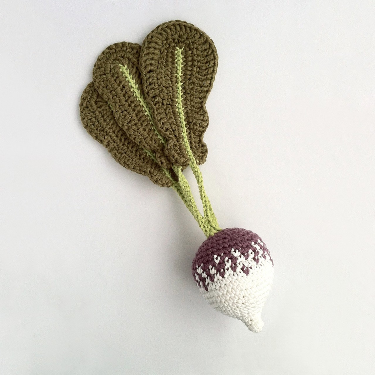 Picture of crocheted vegetable