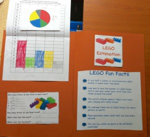 Picture of LEgo-themed lap booking pages