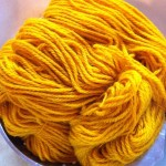 Hand-dyed Plant-dyed Yarn