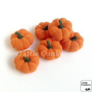 Little Conkers Pumpkin Ornaments