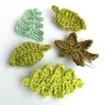 Handmade Leaf Brooches