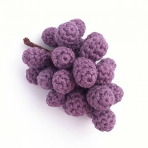 Crocheted Grapes