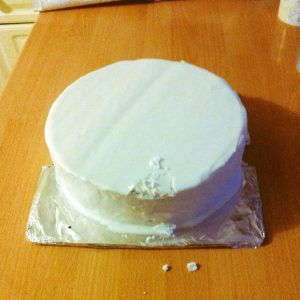 Christmas Cake Icing Problems