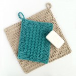 Crochet wash mitt and washcloth patterns