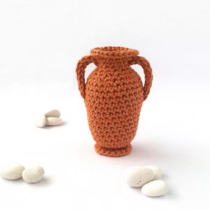 Crocheted Vase