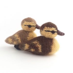 Crocheted Ducklings