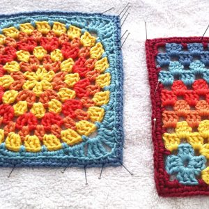 Blocking the Granny Squares