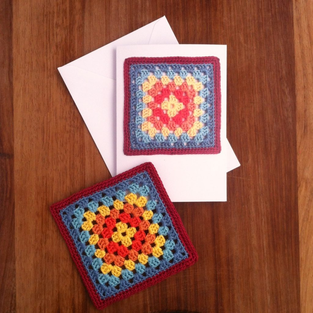 Crochet Greetings Cards
