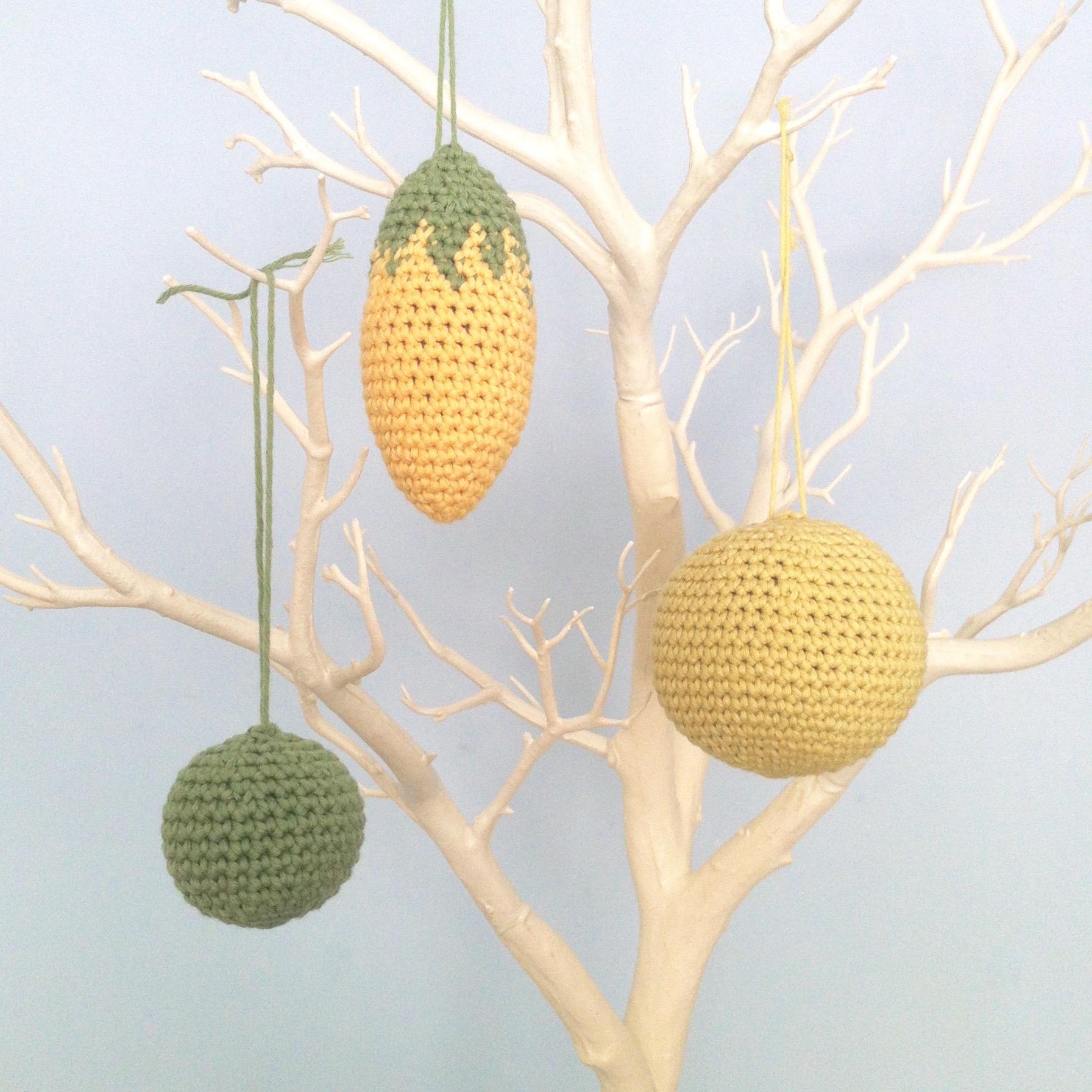 Crochet Ornaments Pattern