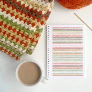 Granny Stripe Blanket Planning by Little Conkers