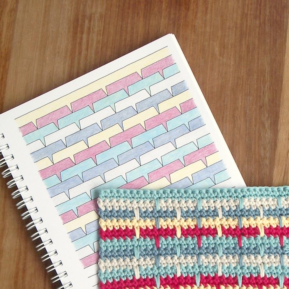 Crochet Drop Stitch Blanket Pattern