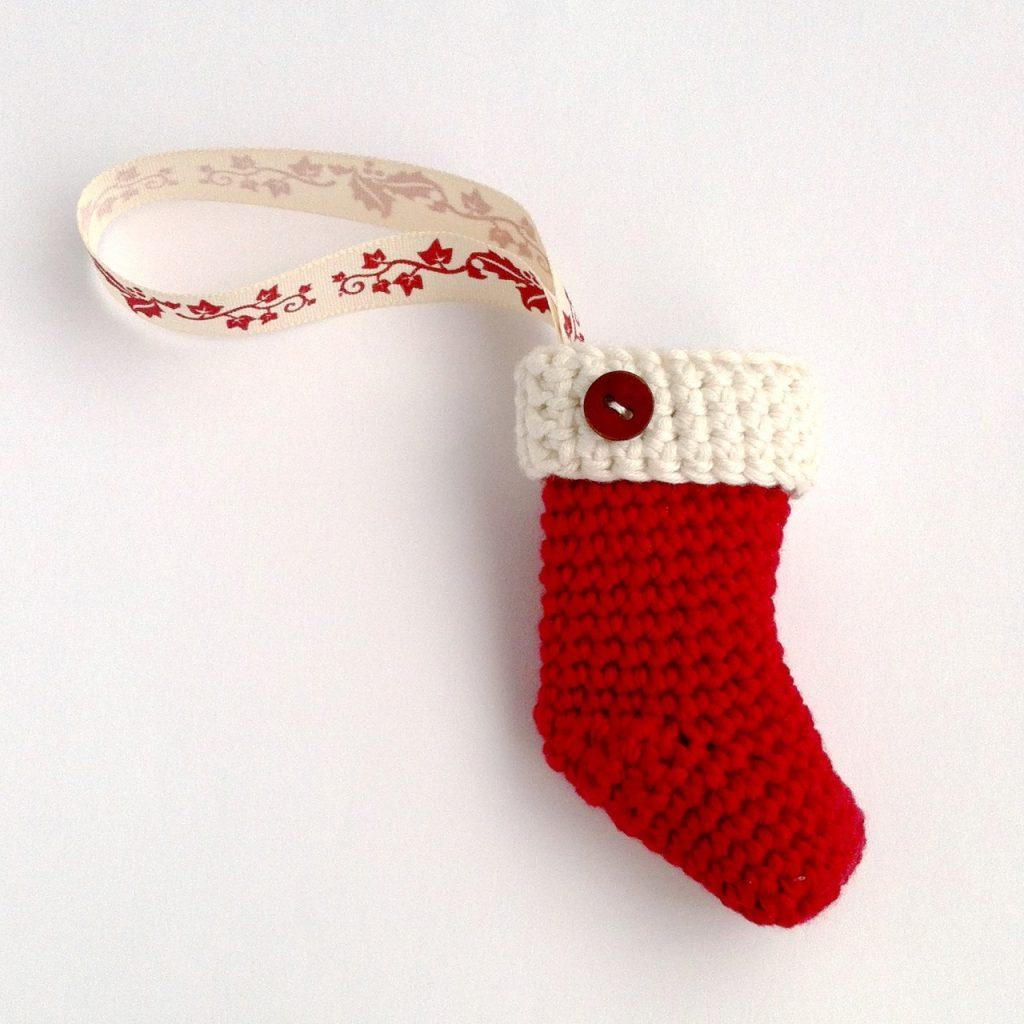 Crochet Christmas Stocking Kit
