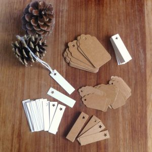 Little Conkers Gift Tags and Price Labels