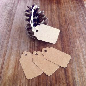 Recycled Gift Tags and Price Labels