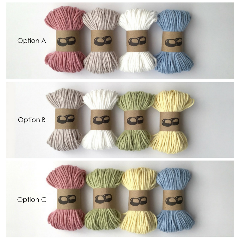 Crochet Kit Yarn Colours