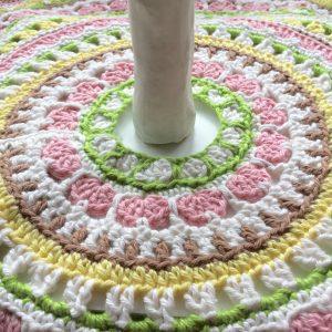 Spring Petals Tree Skirt Mandala