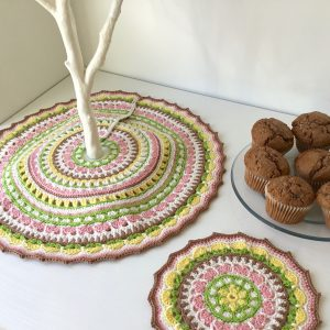 Spring Tree Skirt Mandala
