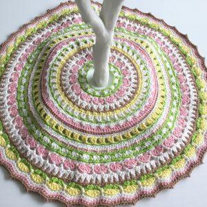 Spring Tree Skirt Mandala