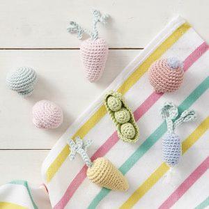 Mini Crocheted Vegetables