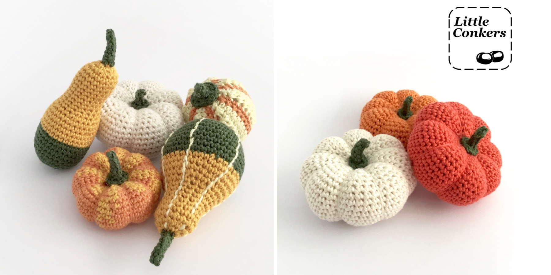 Decorative Gourds and Pumpkins