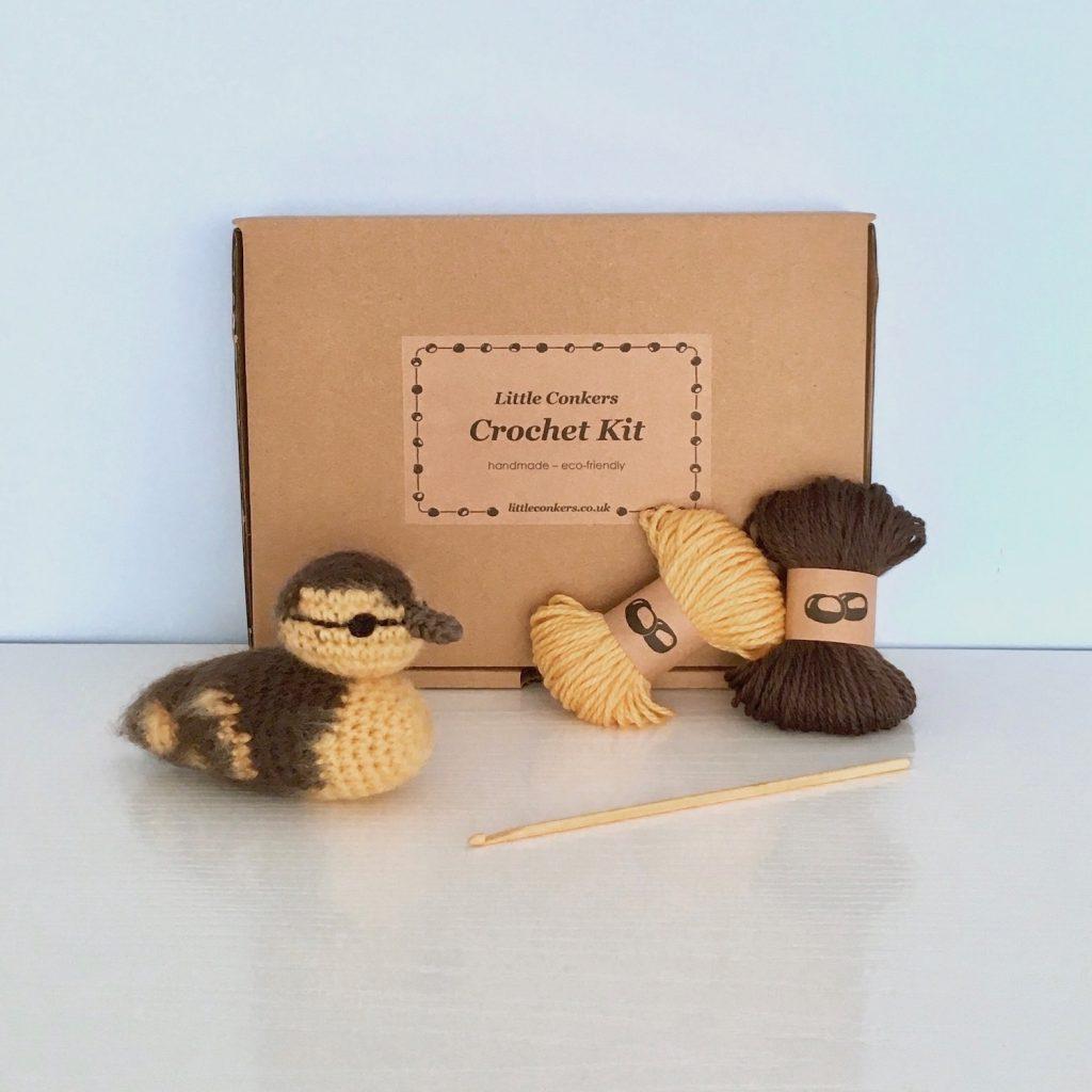 Duckling Crochet Kit
