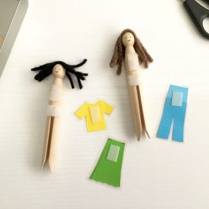 Easy Peg Doll Idea