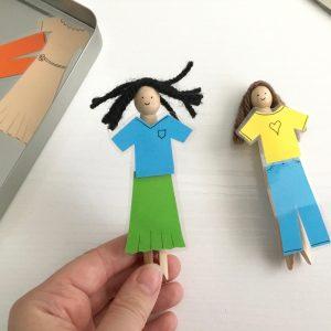 Quick Peg Dolls
