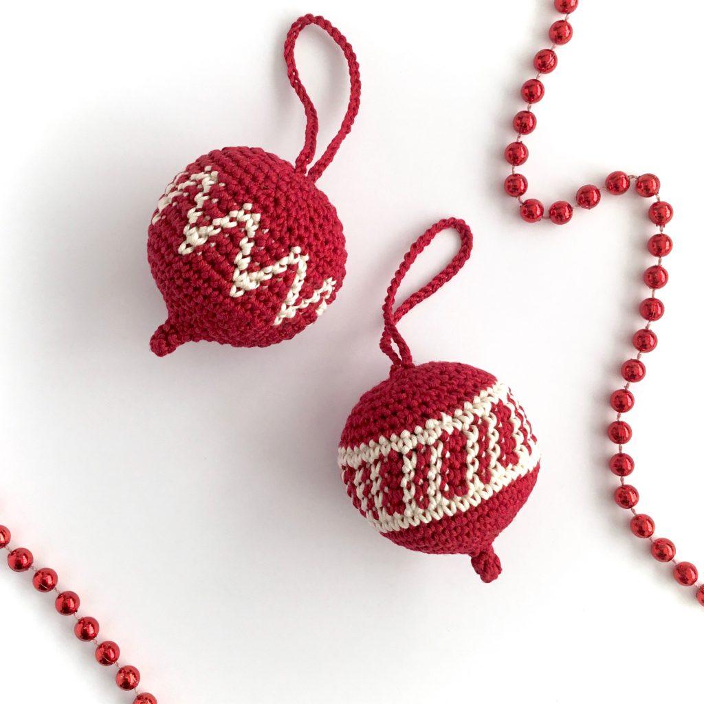 Crochet Christmas Ornament Pattern