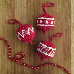 Crochet Christmas Ornament Pattern