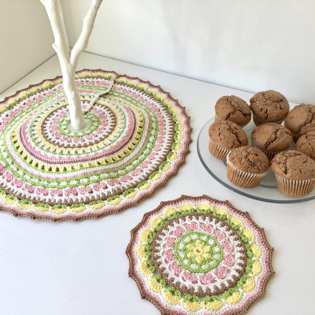 Spring Petals Mandala Crochet Pattern