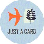 #JustACard Campaign Logo