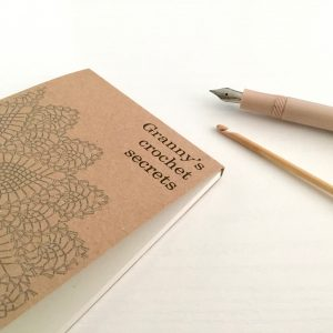Personalised Notepads for Knitting and Crochet