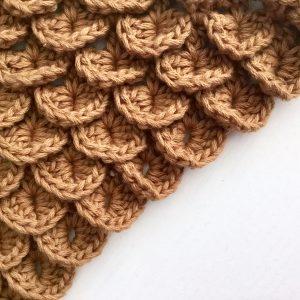 Crocodile Stitch Crochet Stitch