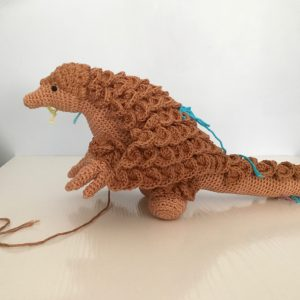 Crochet Pangolin Crocheted Pangolin