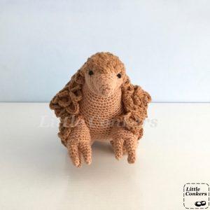 Crocheted Pangolin