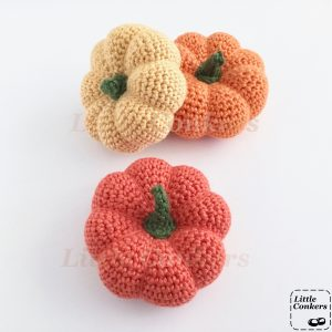 Multi-coloured Pumpkin Ornaments