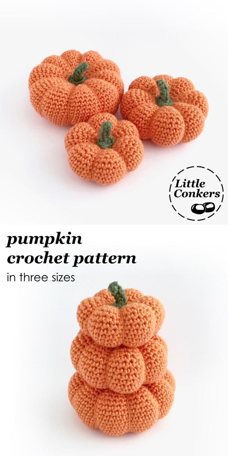 Pinterest Crochet Pumpkin Patterns Little Conkers