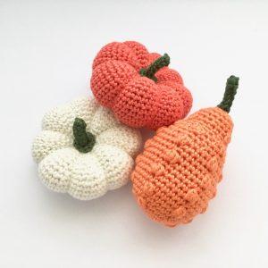 Pumpkin and Gourd Crochet Patterns