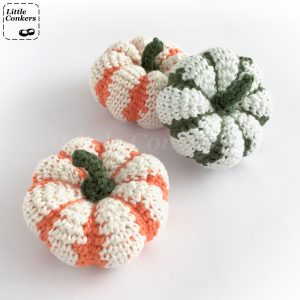 Striped Pumpkin Crochet Pattern