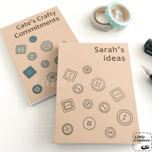 Personalised Notepads for Crafters