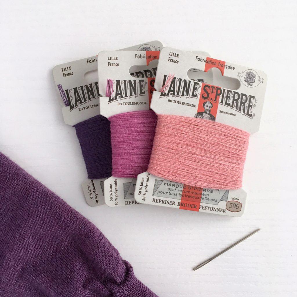 Darning Woollen Items