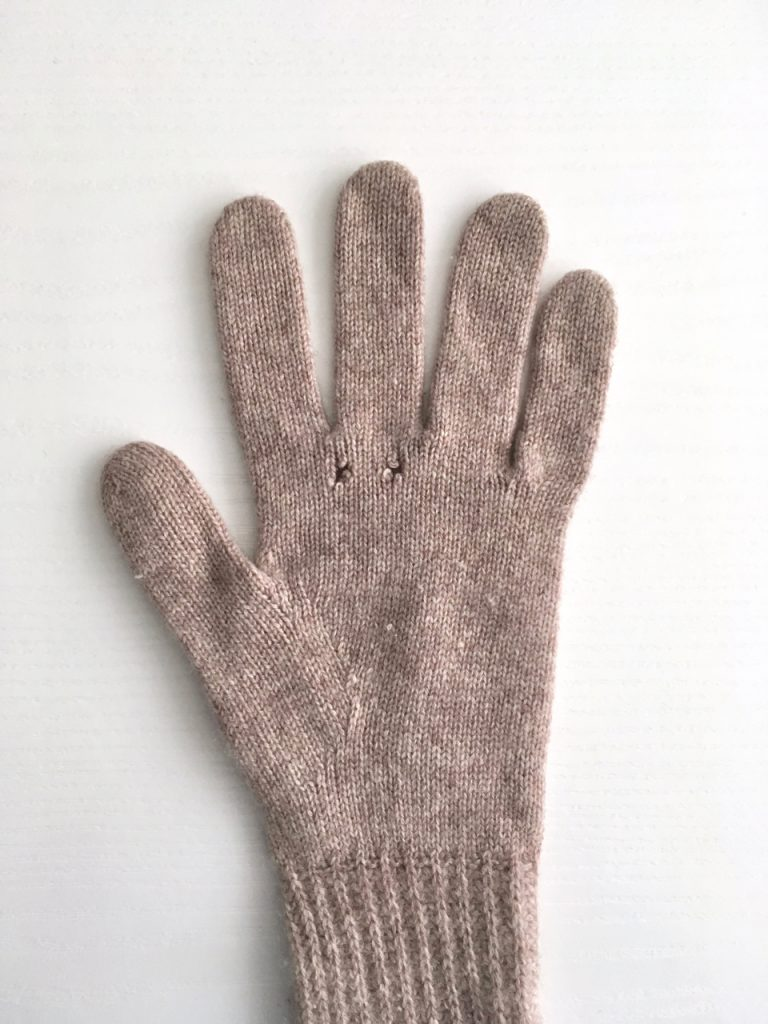Darning Moth Holes in Woollen Items