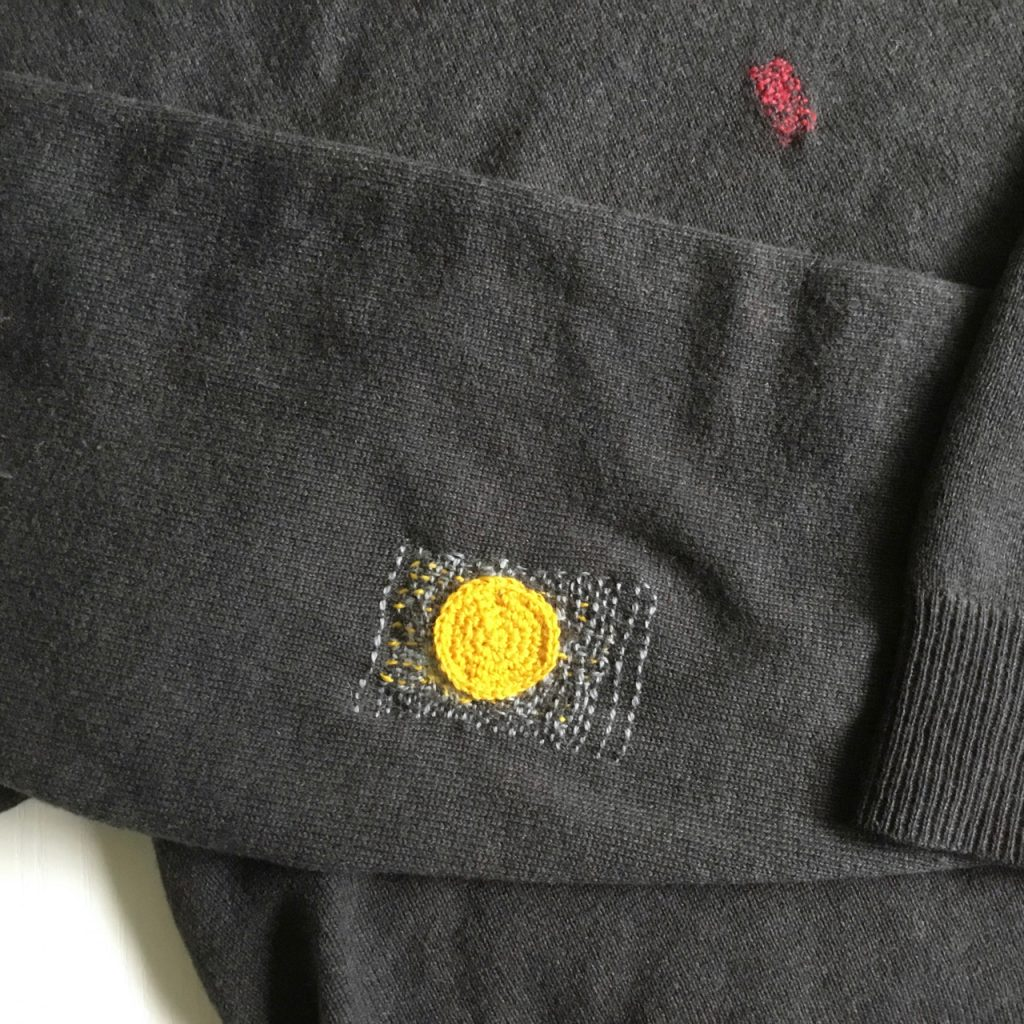 Visible Mending of Woollens