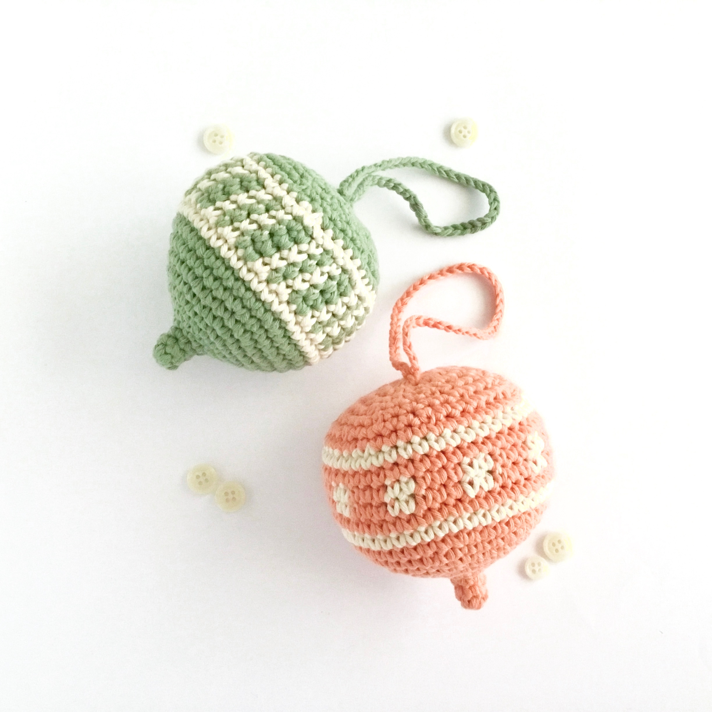 Spring Ornament Crochet Pattern