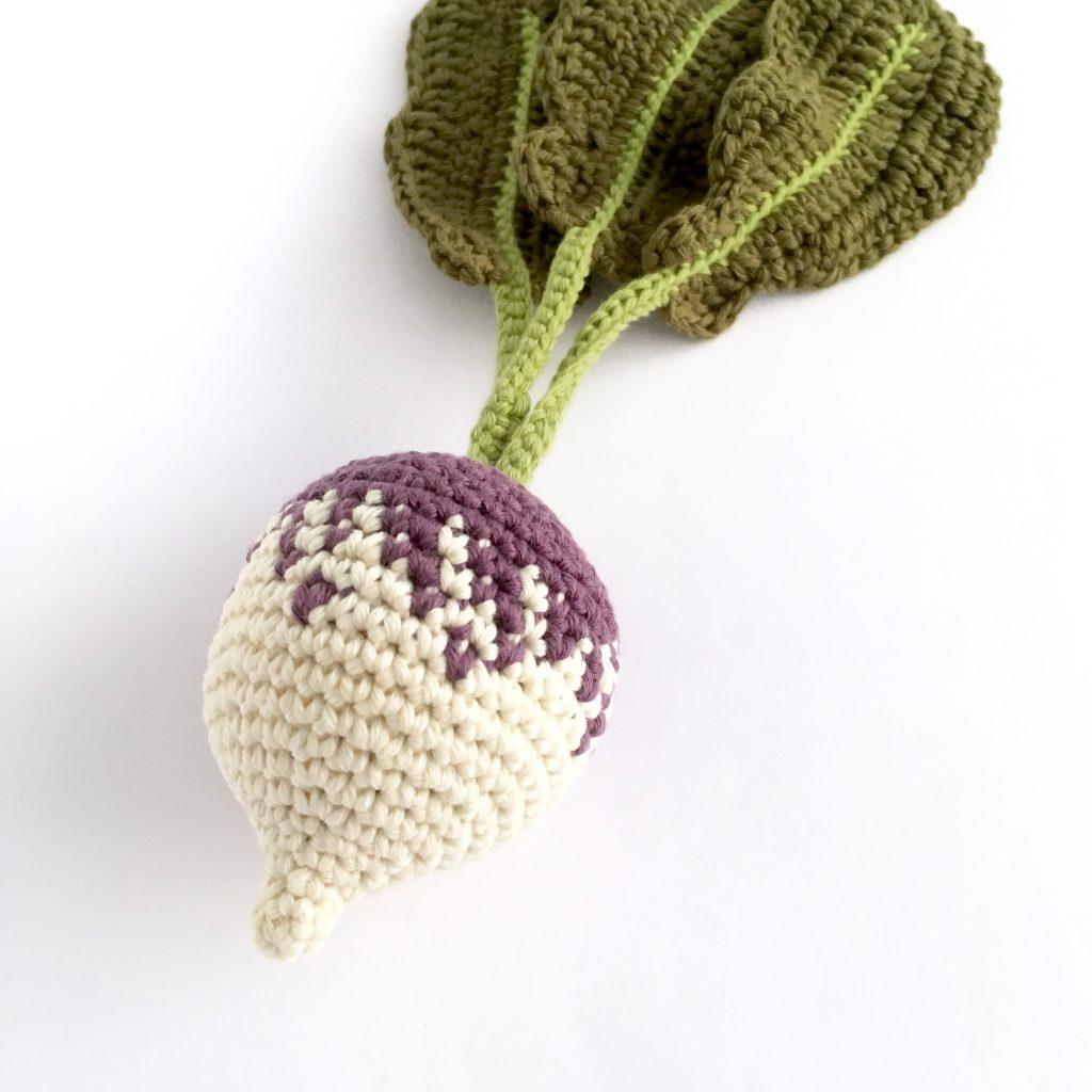 Crochet Turnip Pattern