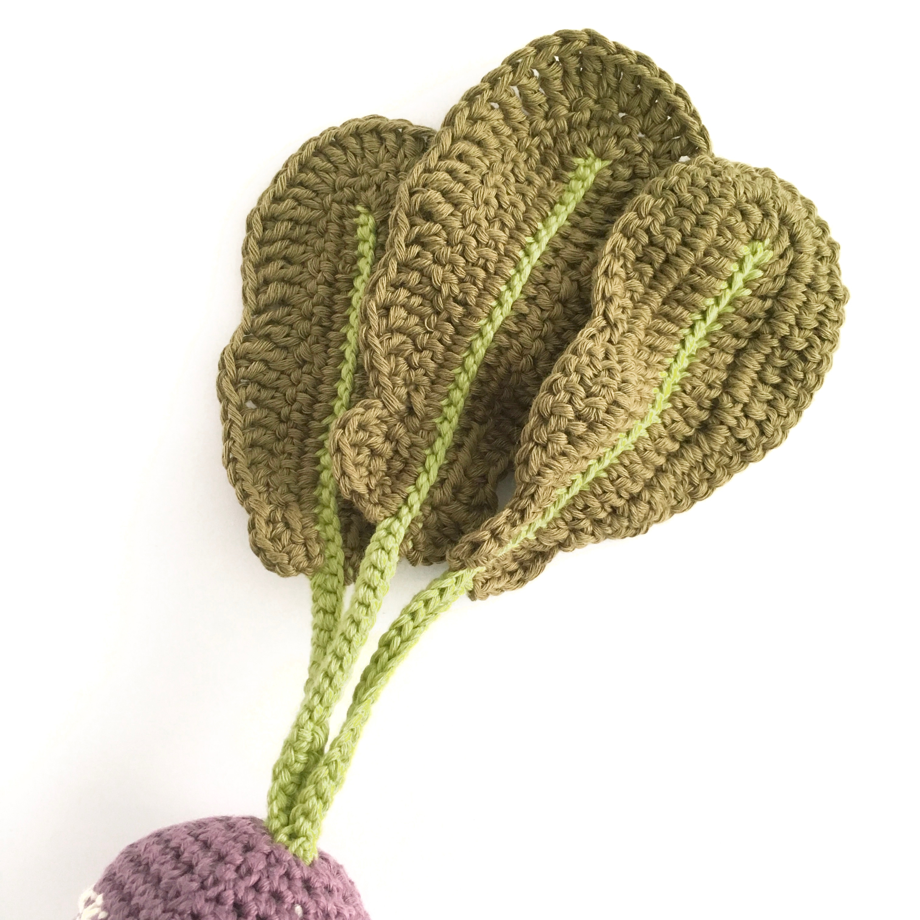 Crochet Turnip Pattern