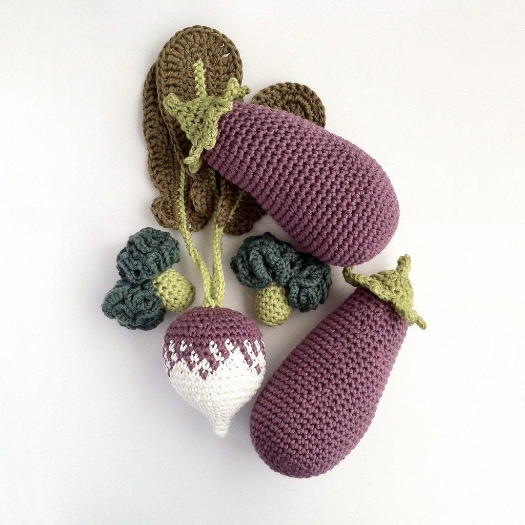 Crochet Vegetable Patterns