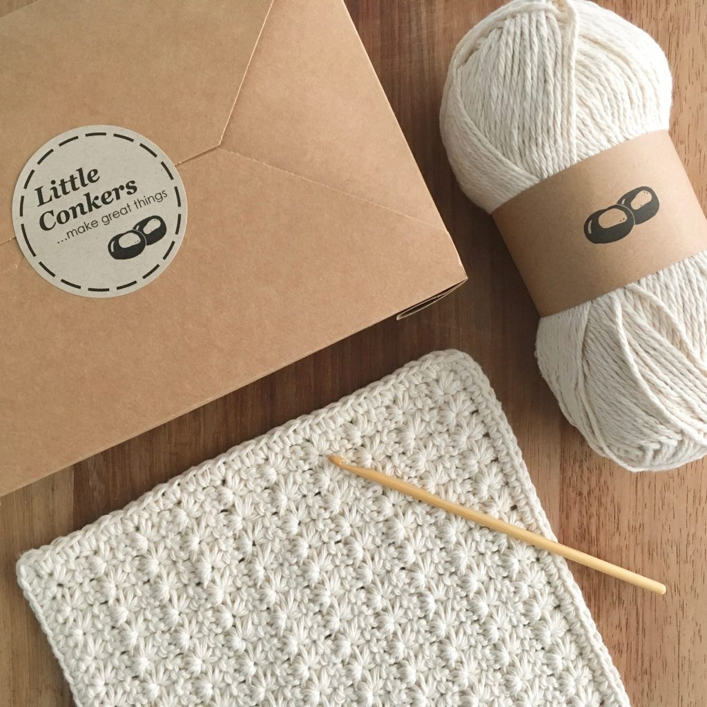 Stitch Dishcloth Crochet Kit
