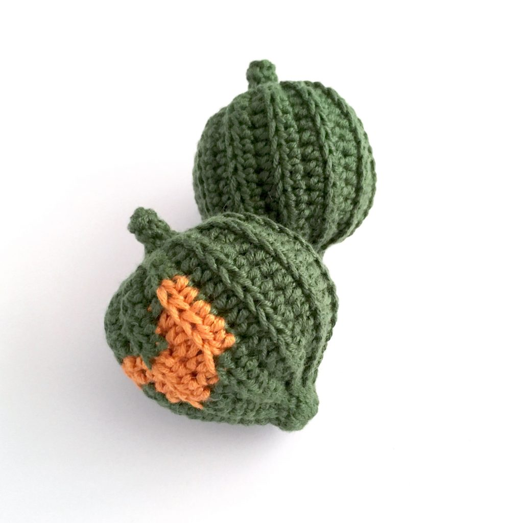 Acorn Squash Crochet Pattern