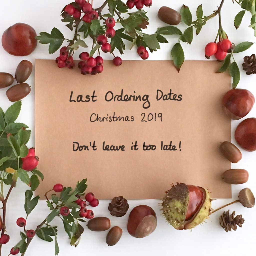 Little Conkers Last Ordering Dates for Christmas 2019